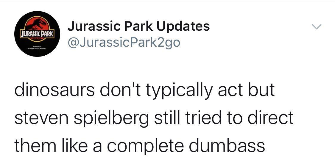 @JurassicPark2go, jurassic park updates twitter, jurassic park parody account, jurassic park parody twitter, jurassic park twitter account, jurassic park parody twitter account, jurassic park twitter, if jurassic park had twitter