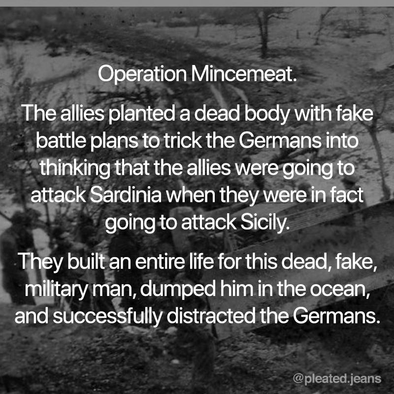 operation mincemeat fact, operation mincemeat