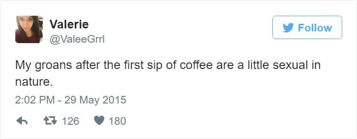 coffee is a little bit sexual meme, coffee is sexual meme, drinking coffee moans meme, funny coffee moaning meme