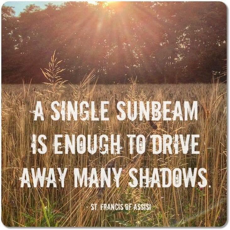 a single sunbeam can drive away many shadows inspirational quote meme, inspirational meme, inspirational memes, inspiring meme, inspiring memes, inspirational image, inspirational images, inspirational pictures, inspirational picture, encouraging meme, encouraging memes, encouraging picture, encouraging pictures, positive meme, positive memes, inspiring image, inspiring images, inspiring picture, inspiring pictures, inspirational quote image, inspirational quote picture, inspirational quote images, inspirational quote pictures