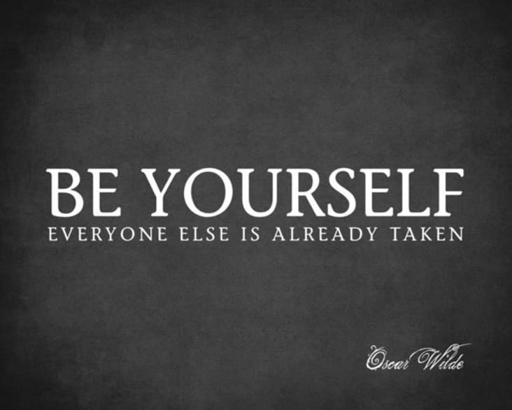 be yourself inspirational meme, be yourself encouraging meme