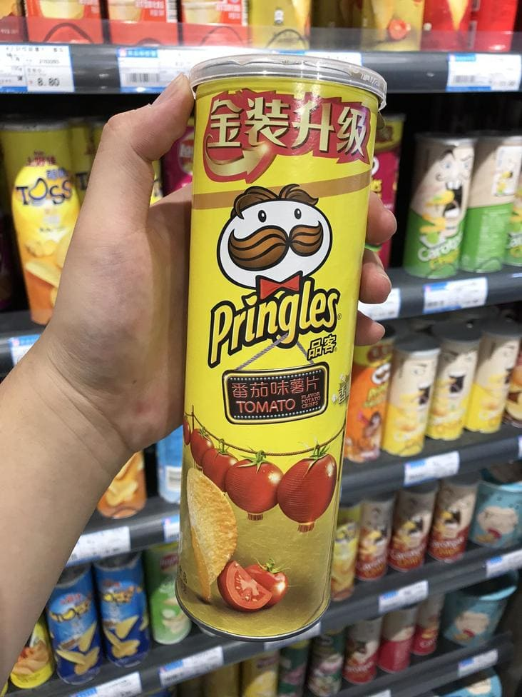 tomato flavored pringles, american food products look different in other countries, american food in different countries, american food in other countries, how american food looks in other countries, american products that look different in other countries, american food products that look different in other countries, how american food products look in some countries, american food products in other countries look different
