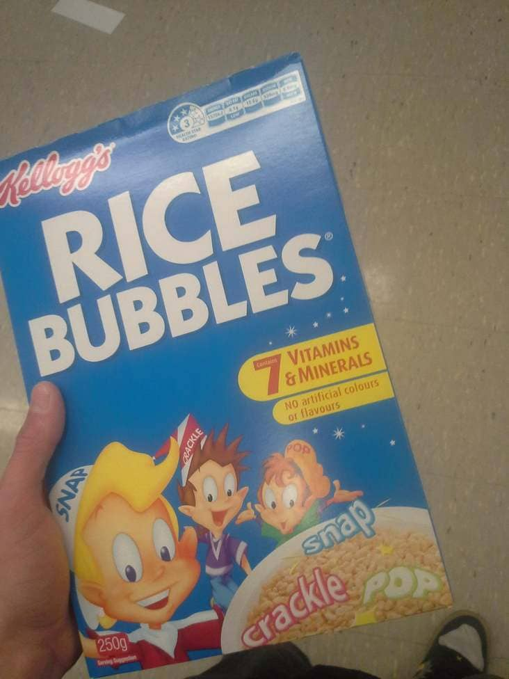 rice krispies called rice bubbles in new zealand, american food products look different in other countries, american food in different countries, american food in other countries, how american food looks in other countries, american products that look different in other countries, american food products that look different in other countries, how american food products look in some countries, american food products in other countries look different