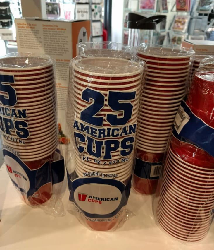 solo cups called american cups in different country, american food products look different in other countries, american food in different countries, american food in other countries, how american food looks in other countries, american products that look different in other countries, american food products that look different in other countries, how american food products look in some countries, american food products in other countries look different