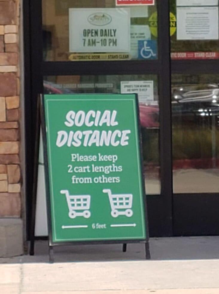 2 cart lengths funny measurement