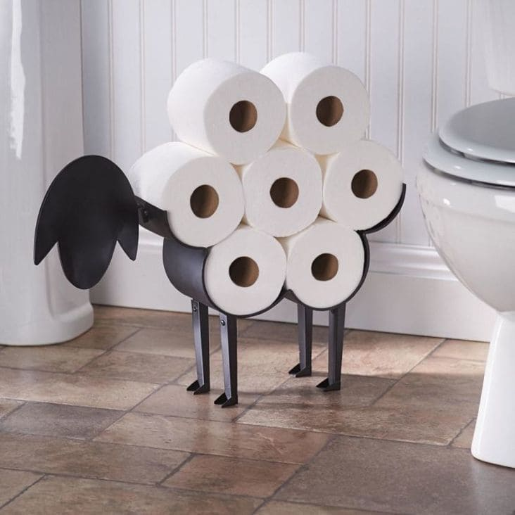 creative toilet paper holder design