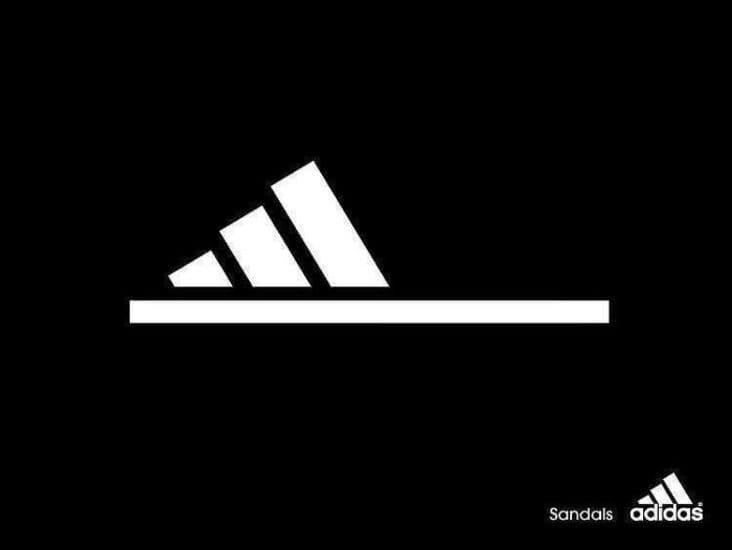 creative adidas sandals ad