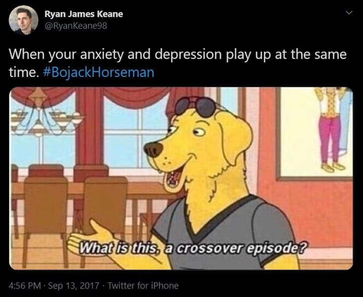 crossover episode depression meme, funny crossover depression meme