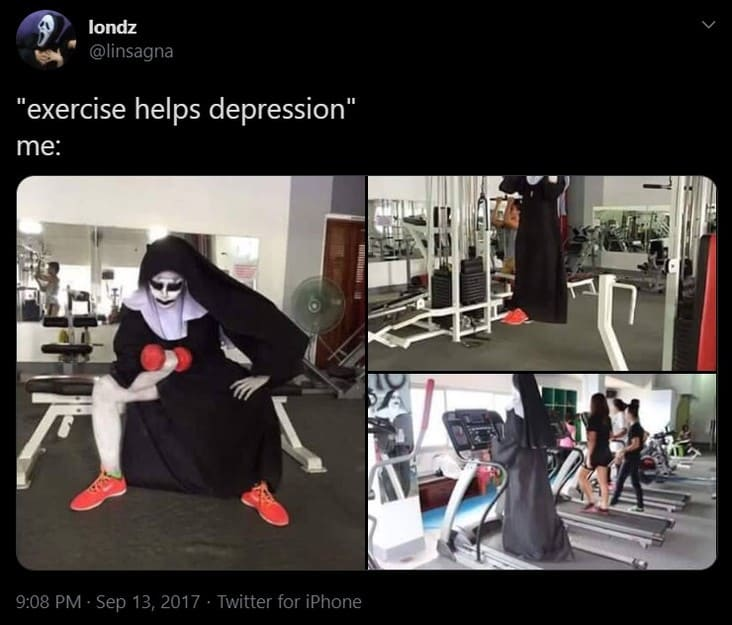 exercise helps depression meme, depression meme, depression memes, funny depression meme, funny depression memes, meme depression, memes depression, meme funny depression, memes funny depression, depressed meme, depressed memes, funny depressed meme, funny depressed memes, meme about depression, memes about depression, funny meme about depression, funny memes about depression, relatable depression meme, relatable depression memes, feeling depressed meme, feeling depressed memes, meme to cure depression, memes to cure depression, meme to alleviate depression, memes to alleviate depression, depression joke, depression jokes, joke about depression, jokes about depression, depression humor, meme about being depressed, memes about being depressed