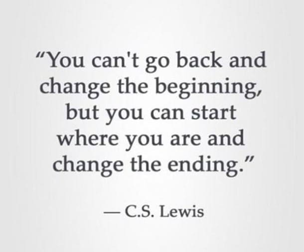 you can change the ending inspirational meme, c.s. lewis inspirational meme, change the ending inspiring meme