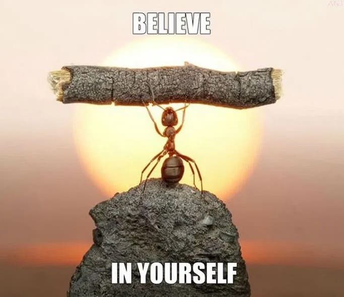 believe in yourself inspirational meme, believe in yourself inspiring meme, believe in yourself encouraging meme, believe in yourself positive meme