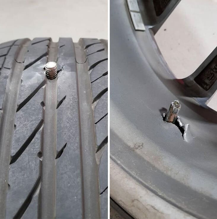 what appears to be a bolt in tire just rolled into the shop, just rolled into the shop, reddit just rolled into the shop, just rolled into the shop reddit, justrolledintotheshop, justrolledintotheshop reddit, r Just rolled into the shop, crazy auto mechanic story, crazy auto mechanic stories, weird mechanic story, weird mechanic stories, weird auto mechanic story, weird auto mechanic stories, crazy auto mechanic story, crazy auto mechanic stories