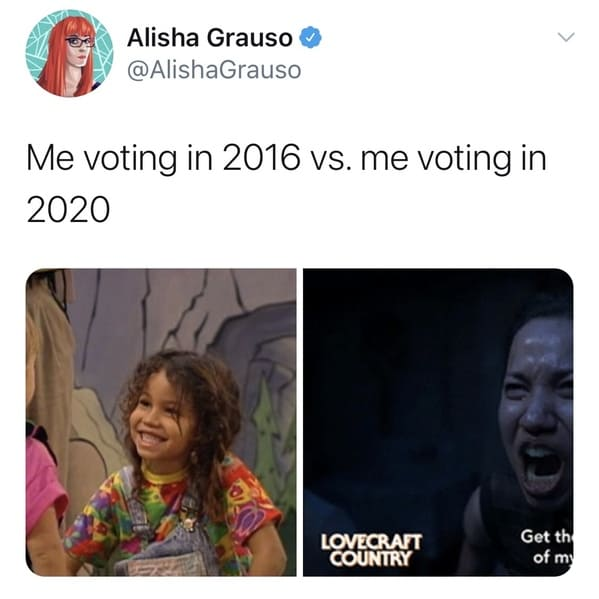 The Results Are In, The 'Me Voting In 2016 Vs. Me Voting ...