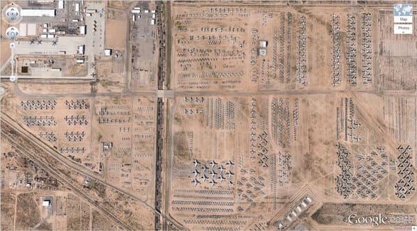 Airplane Boneyard, Tucson, Arizona