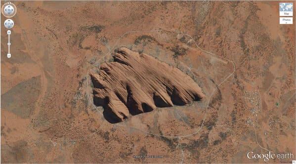 weird google earth finds